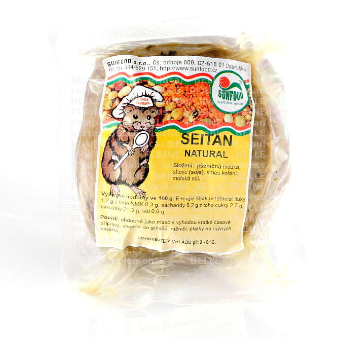 Seitan natural cca 270g Sunfood